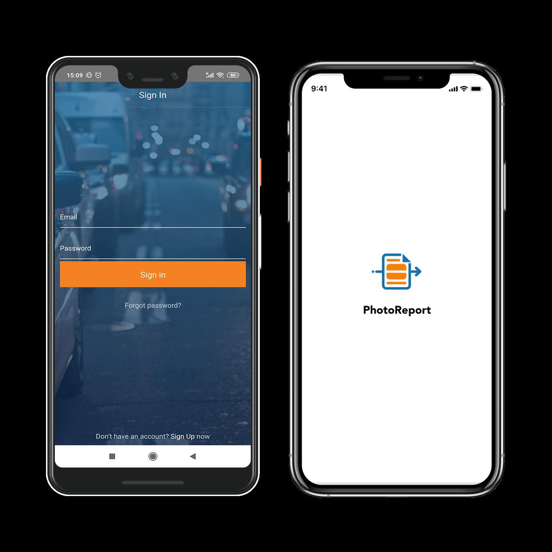 photoreport cross platform app